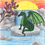 Dragon art original