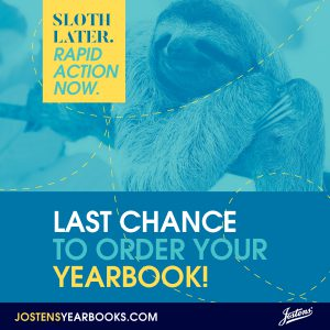 Final yearbook sale image